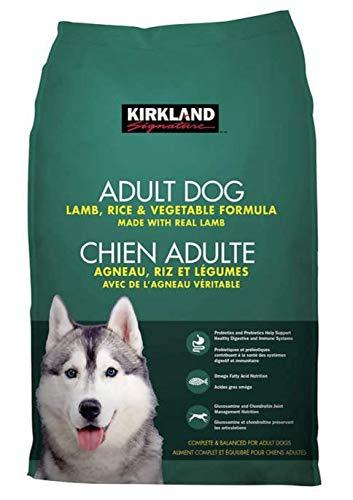 Kirkland Signature Adult Formula Lamb, Rice and Vegetable Dog Food 40 lb ES