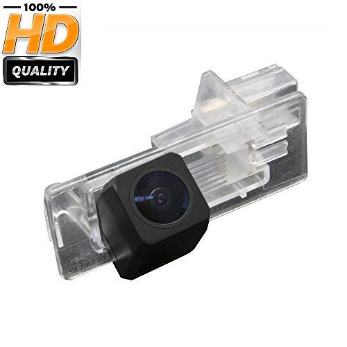 Misayaee Caméra de Recul Voiture en Couleur Kit Caméra vue arrière de voiture Imperméable IP67 avec large Vision Nocturne pour Renault (Model B= 82 x 32 mm)