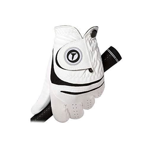 QSMIANA Guantes Lambskin Golf Gloves Gloves De Golf para Hombres Fj Golf Glove Cómodo Resistente Al Desgaste Transpirable