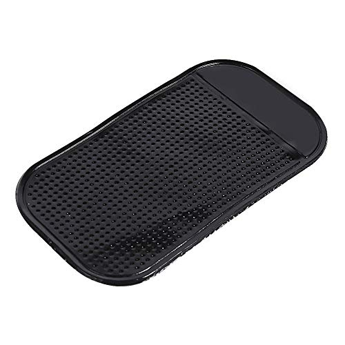 Large size Anti-slip Car Dash Sticky Mat,Silicone Car Dashboard Heat Resistant Pad Anti Slip Mat Adhesive Mat GY-honeq 767676-B)