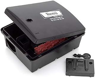 comprar comparacion Pack de 2 Portacebos con Raticida | 2 Cajas para poner veneno de Rata y Ratón 【Incluye caja raticida】