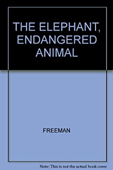 Hardcover ELEPHANT ENDANGERED ANIMAL Book