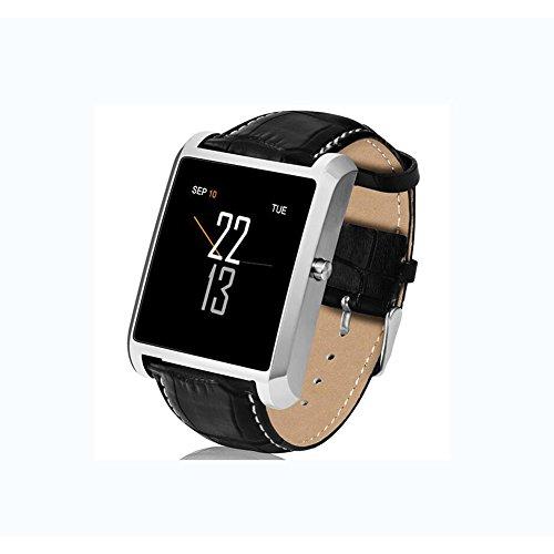 LIRONG Bluetooth Smart Horloge Polsband Zakelijke Riem Horloge Multi-Functie Grote-Screen Remote Self-Timer Slaapanalyse Platform Compatibel
