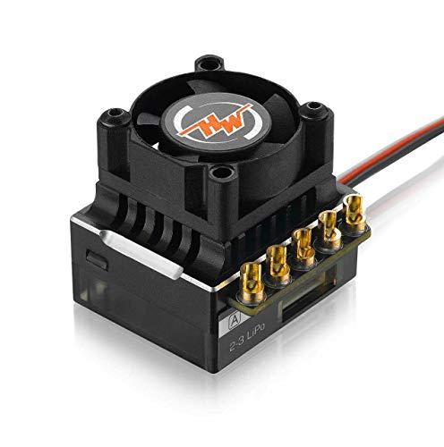 Hobbywing #30112000(Black) XERUN-XR10-Justock Zero-timing ESC for 1/10 &1/12 RC