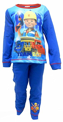 Bob The Builder Jungen Schlafanzug blau blau Gr. 86, Bob The Builder - Team Bob