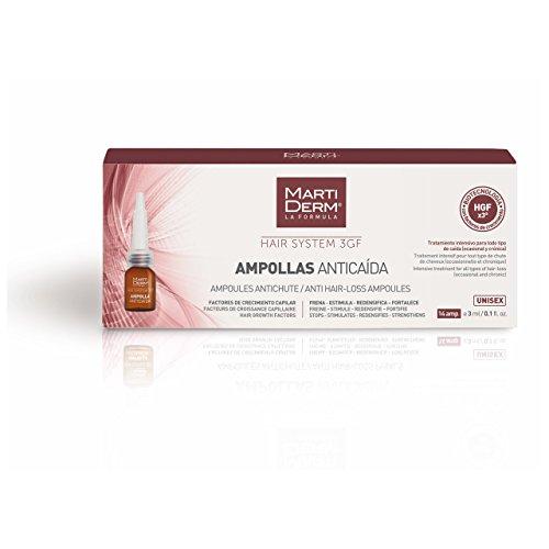 HAIR SYSTEM 3 GF 14 AMPOLLAS ANTICAIDA