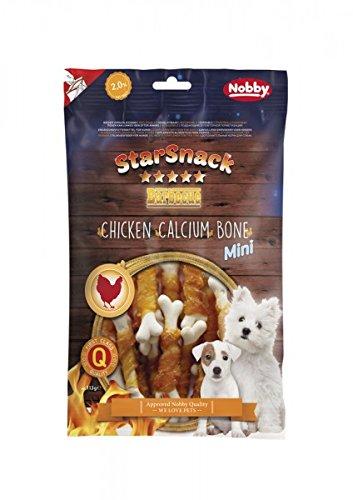 Nobby STARSNACK Barbecue MINI Chicken Calcium Bone 113 g