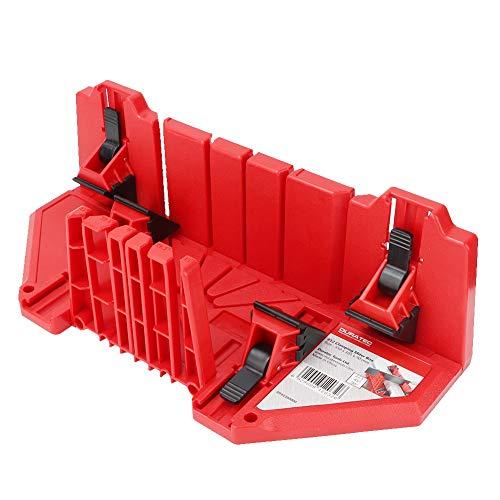 Caja de ingletes, gabinete de sierra de inglete resistente al desgaste de plástico de ingeniería ABS, multifunción para baldosas de madera de yeso