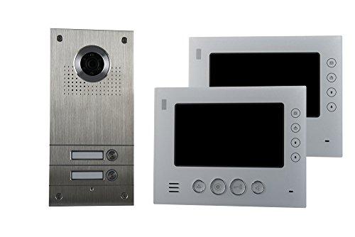 AE 3CK2–812s1–022fam. di colore video citofono Set 2, 2pezzi