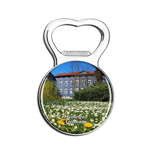 Schloss Meiningen Deutschland Bier Flaschenöffner Kühlschrank Magnet Metall Souvenir Reise Gift