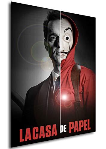 Instabuy Poster La casa de Papel - Mask Berlin - A3 (42x30 cm)