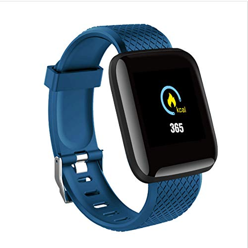 YAOUFBZ Fitness Tracker Negros,Smart Watch,Monitor de frecuencia cardíaca,rastreador de sueño,Contador de Pasos de calorías,Pantalla de 1.3',Pulsera de Actividad para Mujeres y Hombres