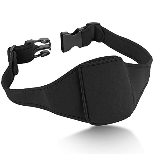 Vertical Carrier Belt for Mic Transmitters, for Fitness Instructors, Theater, and Presentations