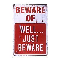 ビデオ監視標識、不法侵入金属警告標識なし、家庭用の屋内または屋外での使用-20x30cm