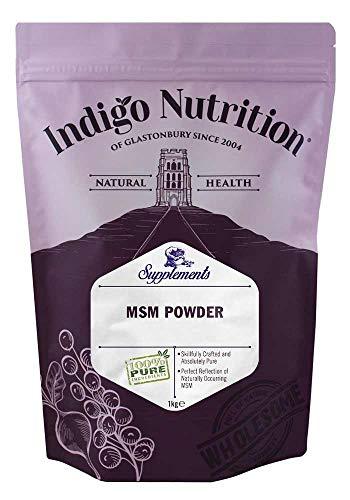 Indigo Herbs MSM kristalpoeder 1kg | methylsulfonylmethaan
