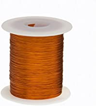 Remington Industries 44S200P.125 Magnet Wire, Enameled Copper Wire Wound, 44 AWG, 2 oz, 9975' Length, 0.0022