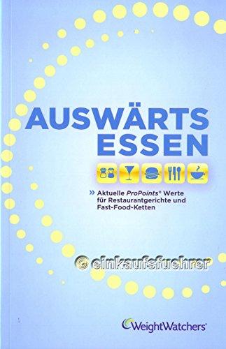 Weight Watchers Restaurantführer - Auswärts Essen *NEUES PROGRAMM 2014*