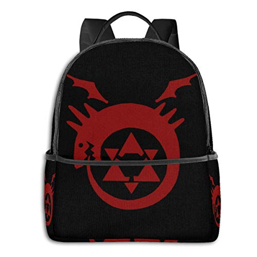 Anime Fma Symbols #3 Classic Student School Bag School Cycling Leisure Travel Camping Outdoor Backpack