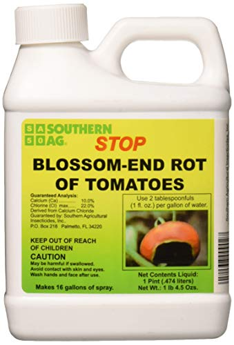 Southern AG 100048945 Stop Blossom-End Rot of Tomatoes Plant Nutrient, 16oz