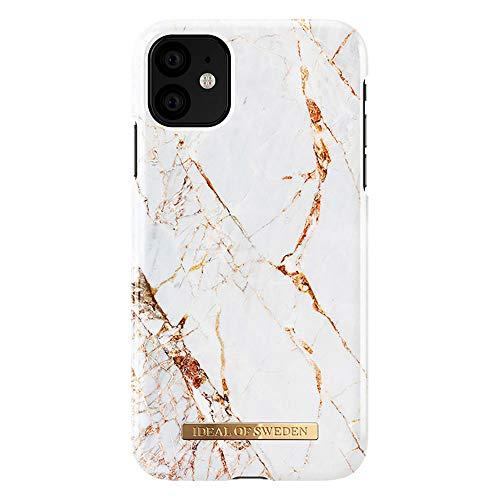 iDeal Of Sweden Carrara Gold Fashion Back Case kompatibel mit iPhone 11