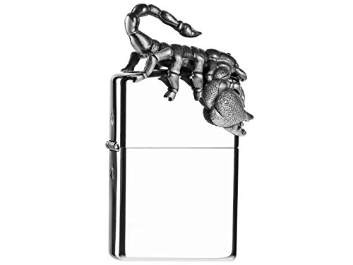 Org.ZIPPO cr.pol. Emblem 'Scorpion 3D Figure' 2004582 Limited Edition of 2,500 Pieces, Packed in Acrylic Display
