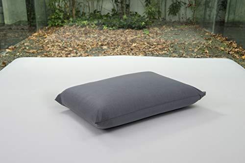 BSensible Tencel Funda de almohada protectora impermeable y transpirable Antracita 70 x 40