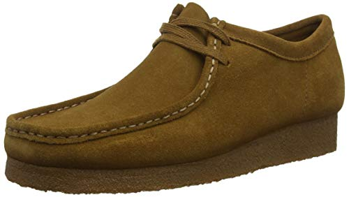 Clarks Originals Wallabee, Zapatos de Cordones Derby para Hombre, Marrón (Cola-), 41 EU