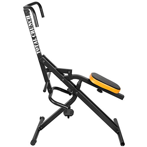 TELESPORT Upright Squat Machine Assist Row-N-Ride Trainer for Glutes/Quads/Abs/Thighs/Arms/Butt Workout from TELESPORT