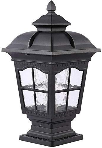 HLR staande lamp voor buiten, waterdicht, lantaarns patio post E27 Villa tuinlicht buiten park balkon verlichting Public