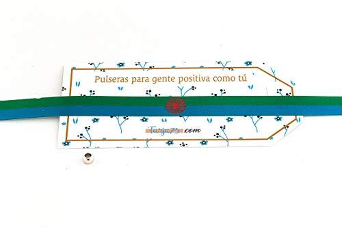 Pulseras de tela con bandera gitana: ORGULLO DE SER GITANO | Regalo original