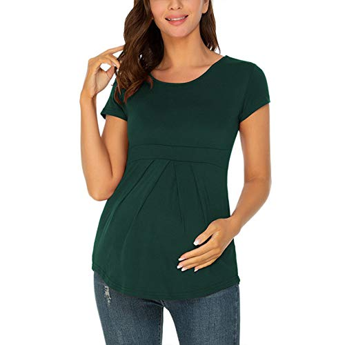 Mujeres Embarazadas Tops De Verano Mujeres Embarazadas Camisetas De Manga Corta Embarazadas Mujeres Embarazadas SeñOras Elegantes Camisetas De Moda Tops Ropa De Mujer Linda