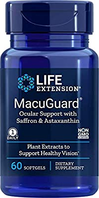 MacuGuard, Ocular Support with Astaxanthin, 60 Softgels - Life Extension from Life Extension