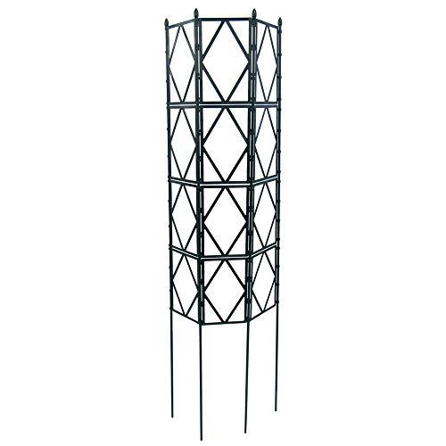 広げるだけのかんたんトレリス フェンスにも 組み立て不要で設置もかんたん! ローズトレリス 幅60cm×高さ180cm (180cm)