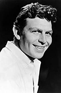Andy Griffith B&W Smiling Early Publicity 24x18 Poster