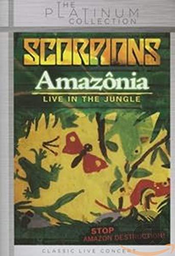 Scorpions : Amazônia : Live in the Jungle [Reino Unido] [DVD]