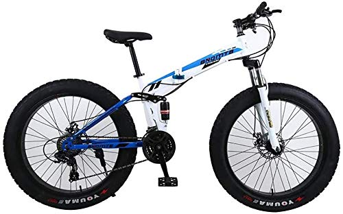 Affordable ANXIANG 24-Speed Mountain Bike, Equipped with 24/26 inch Fat Tires, and After The Double ...