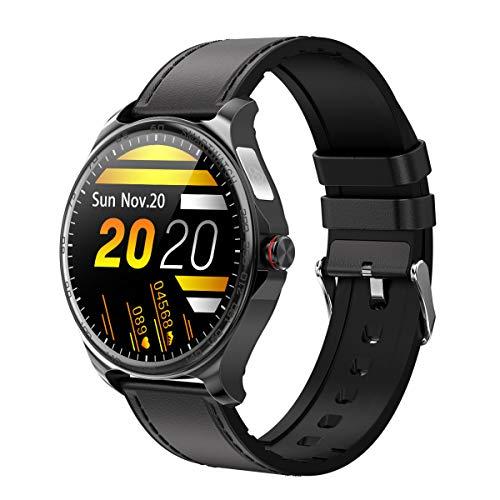 LC.IMEEKE Smartwatch, Fitness Armbanduhr mit Pulsuhr Touchscreen Fitness Uhr IP67 Wasserdicht Fitness Tracker Sportuhr mit Schrittzähler Schlafmonitor Stoppuhr Smart Watch für Damen Herren