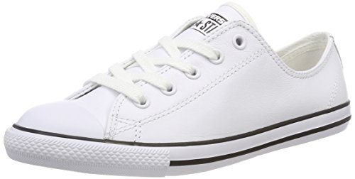 Converse Damen Ct Dainty Ox Blk Fitnessschuhe - Weiß (Blanc) , 38 EU