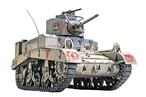 Airfix British M3 Stuart Honey 1:35 WWII Military Tank Armor Plastic Model Kit A1358
