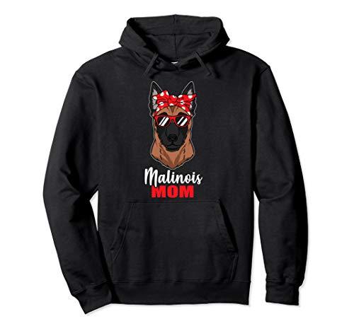 Lustiges Hunde Mama Geschenk Frauchen Malinois Hund Pullover Hoodie
