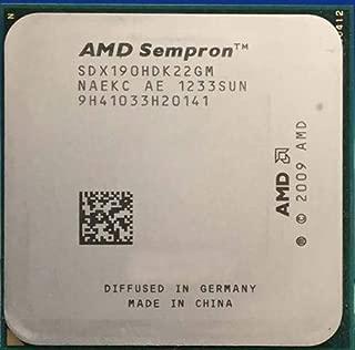 Cailiaoxindong Sempron X2 190 x2 190 CPU Processor Dual Core Desktop Socket 938 AM3 2.5GHz 45W SDX190HDK22GM