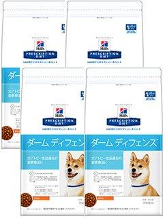 ヒルズ プリスクリプションダイエット 犬用 【ダーム ディフェンス】 チキン 3kg 4袋セット