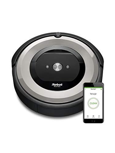 *iRobot Roomba e5 (e5154) Saugroboter mit mit 3-stufigem Reinigungssystem, zwei Multibodenbürsten, WLAN Staubsauger Roboter, Ideal für Haustiere, Teppiche und Hartböden, App-Steuerung, Dirt Detect*