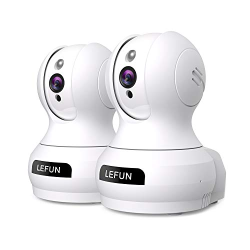 Wireless IP Security Camera, Lefun Indoor WiFi Camera Baby Monitor with Motion Detect Night Vision...