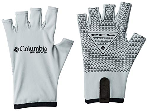 Columbia Terminal Tackle Fishing Glove, Cool Grey, Large/X-Large