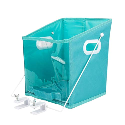 BAIHUAXIN Closet Caddy - Pull Down Foldable Storage Bin,Foldable Organizers with Transparent Window for Bedroom Bathroom Clothing Storage Organizer