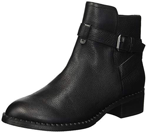 Gentle Souls by Kenneth Cole Women's Best Moto Buckle Strap Bootie Ankle Boot, Black, 6.5 M US