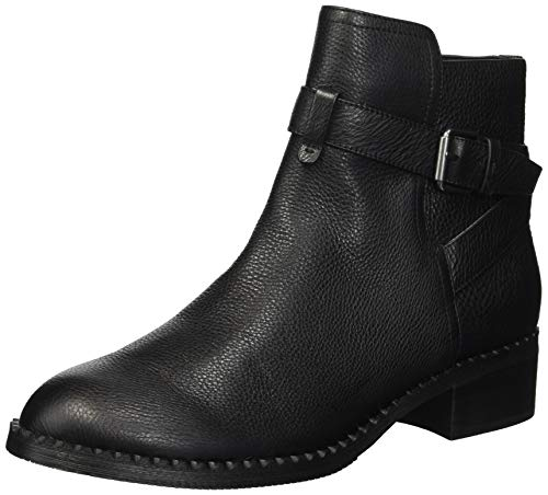 Gentle Souls by Kenneth Cole Women's Best Moto Buckle Strap Bootie Ankle Boot, Black, 7 M US