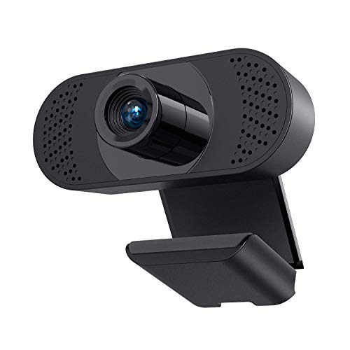 2K Webcam with Microphone & Privacy Cover, Walfront QHD Web Camera for Computer Desktop Laptop 3