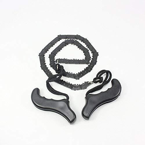 Heng Hand kettingzaag Staallegering trimzaag Outdoor draagbare zaag Handmatige draadzaag voor kamperen Wandelen Survival Tool